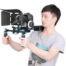 Matte Box For 15mm Rail Rod Suppot Focus Rig 60D 5DII & Follow-Focus for DSLR