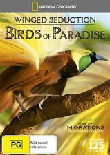 National Geographic: Winged Seduction - Birds of Paradise NEW R4 DVD