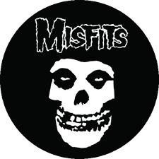 IMAN/MAGNET MISFITS Logo . black flag danzig circle jerks ramones zero boys punk