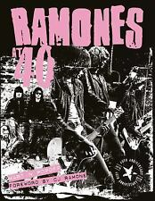 The Ramones at 40 by Martin Popoff (2016, Hardcover)