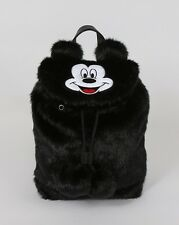 Lazy Oaf x Disney Mickey Mouse Fur Backpack black