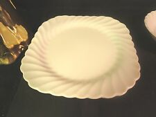 "Johnson Brothers Regency Snowhite 7-5/8"" Square Salad Plate Made in England"