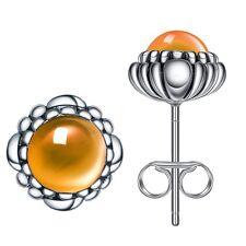 12 Colors European 925 Sterling Silver Zirconia Crystal Birthday Earring Stud UK