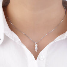 Women Girl Sweet Cute Tiny Cat Kitten Necklace Pendant  for Necklace JL