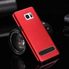 Metal Arc Combo Case Soft Silicone Hard Aluminum Hybrid Cover For Samsung Galaxy