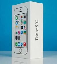 APPLE iPHONE 5S 16GB SILVER MF353 4G UNLOCKED - BRAND NEW & SEALED MOBILE PHONE