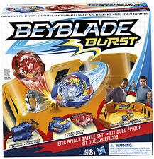 2016 Hasbro Beyblade Burst Epic Rivals Battle Gift Set w Beystadium Top Launcher