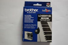cartouche BROTHER  LC 1000HY noire