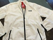 Nike FC N98 White Packable Windbreaker Jacket Sz L NWT