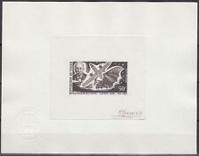 Niger 1970 ** Mi.247 Epreuve Artiste signée ESSAY Weltraum Space Clément Ader