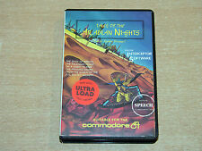 COMMODORE 64-TALES OF THE Arabian NIGHTS dal software INTERCEPTOR