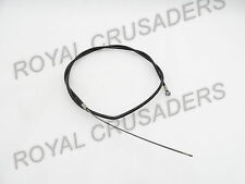NEW JAWA MOTORCYCLE CLUTCH CABLE ASSEMBLY WITH ADJUSTER (CODE2123)