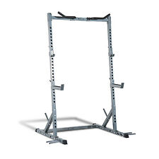 Soozier Squat Power Rack Stand Strength Lifting Pull Up Weight Workout Fitness