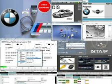 BMW DIS V57 SSS TIS INPA WDS ISTA+ / ISTA-D ISTA-P & USB K+DCAN cable