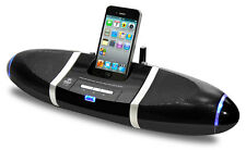 iPod iPhone4 4S Dock with wireless Speakers with Aux Input
