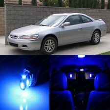 17 x Ultra Blue LED Lights Interior For Honda ACCORD 1998 - 2002 Coupe Sedan