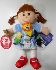 Hand and Finger Puppet Gift Set Dorothy with Wizard of OZ Characters Fiesta NEW