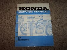 1991 Honda CBR600F2 CBR 600 F 2 Motorcycle Original Service Repair Shop Manual