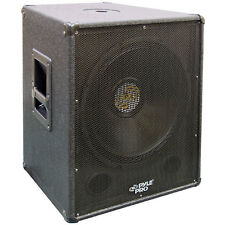 New Pyle PASW15 800 Watt 15'' Stage PA Subwoofer Cabinet DJ Pro