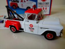 MATCHBOX DIECAST COLLECTIBLES-1955 CHEVY TOW TRUCK- TEXACO- 1:43 SCALE- NIB