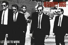 Reservoir Dogs Lets Go To Work Movie Poster size 24x36