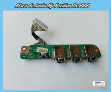 Placa de Audio Hp Pavilion DV9000 Audio Jack Board DA0AT5AB8D0