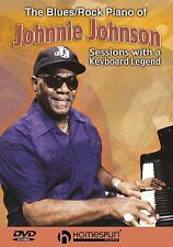 The Blues Rock Piano Of Johnnie Johnson Play Pop N Roll Solo Music DVD