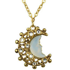 NEW KIRKS FOLLY SEAVIEW MOON SHADOW LACE NECKLACE GOLDTONE
