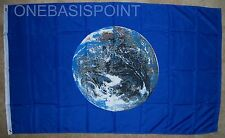 3'x5' MOTHER EARTH FLAG GREEN MOVEMENT ECOLOGY WORLD PLANET HUGE GLOBE NEW 3X5