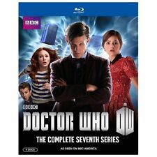 Doctor Who: The Complete Seventh Series 7 (U.S. Release 4-Disc Blu-ray Set)