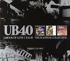 UB40 LABOUR OF LOVE I, II & III - THE PLATINUM COLLECTION 3CD ALBUM SET (2003)