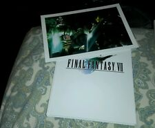 FINAL FANTASY VII 7 COLLECTORS EDITION STRATEGY GUIDE BOOK SEALED NEW WITH LITHO