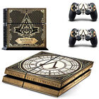 Vinyl Skin Sticker For Sony PS4 Console+2 Controllers Skin Decal