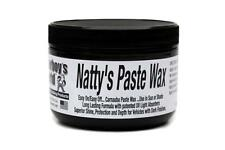 Poorboys World Nattys Paste Car Wax BLACK High Shine Carnauba For Dark Paint