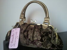 Borsa Bag CAMOMILLA MILANO Linea damascato Made in Italy New Listino  €106