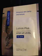 10 NeoStrata LOTION PLUS Samples NEW great for travel FREE & Fast shipping