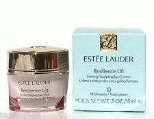 New Estee Lauder Resilience Lift Firming Sculpting Eye Creme .5oz 15ml Full Size