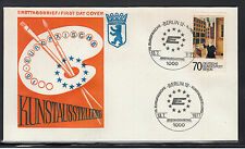 253) Germany Berlin 1977 First Day Cover - European art exhibition