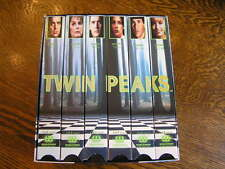 WorldVision TWIN PEAKS Special Collectors Edition (VHS, 1993, 6-Tape Set)