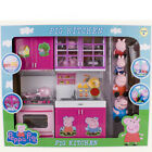New Peppa Pig Kitchen Set Toy With Figures Xmas Gift