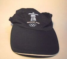 Vancouver 2010 Olympic Games Small Youth Blue Baseball Hat Cap, Adjustable