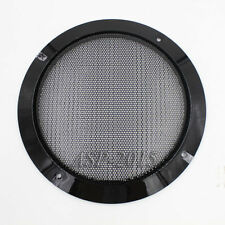 "Black Universal 185mm 6.5"" Car Speaker Panel Coaxial Steel Sub Mesh Grills Cover"