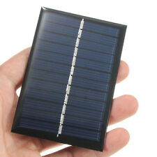 6V 0.6W Solar Panel DIY Cell Charger For Light Battery Phone Portable