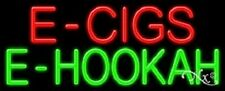 "NEW ""E - CIGS E-HOOKAH"" 32x13 REAL NEON SIGN w/CUSTOM OPTIONS 11389"