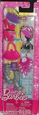 Barbie Fashionistas Accessory Pack Shoes Purse Jewelry Fashions New X7866
