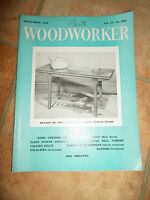 Woodworker September 1960 ~ Retro Vintage Illustrated Magazine + Advertising