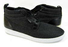 WESC Shoes Hagelin Wool Mid Melton Black Sneakers Size 9 EUR 42