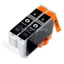 2 CANON Patronen mit Chip CLI8 black IP3300 IP3500 IP4200 IP4500 IP5200 IP5300
