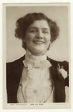 PORTRAIT OF LILY ELSIE: BEAUTIFUL AND TALENTED STAGE ACTRESS (VINTAGE RPPC)