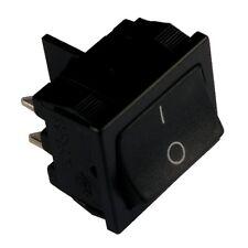 Wippschalter H8650VBAAG Schalter 2-polig EIN-AUS 10A 250V AC schwarz 855229